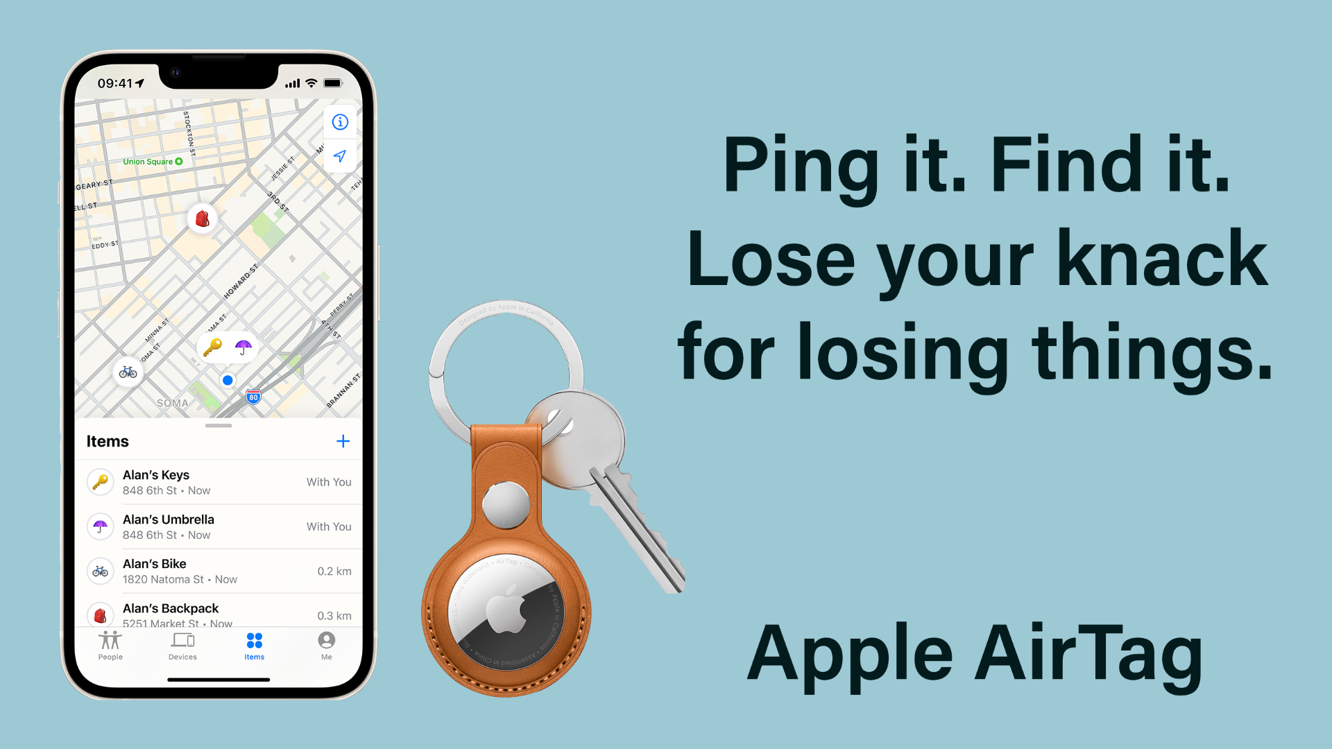Ping it. Find it. Lose your knack for losing things.
